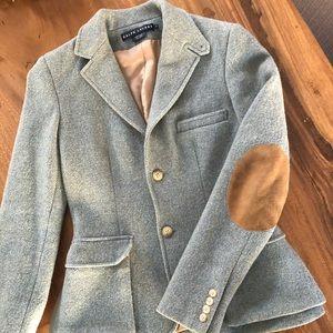 Ralph Lauren women's wool blazer w/ elbow patches